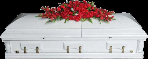 Ветка памяти эксклюзивная Красные цветы