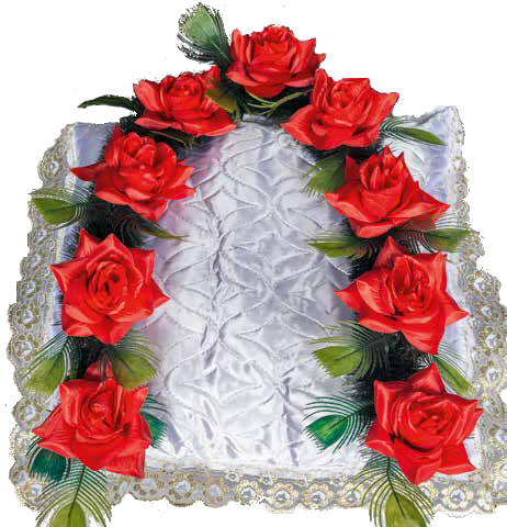 Гирлянда стандартная «Красная роза»