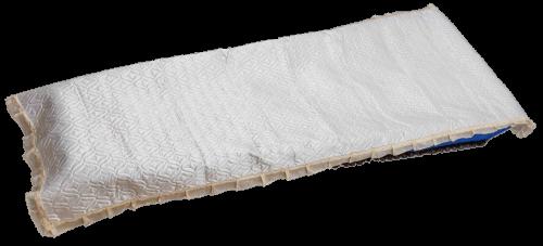 Покрывало атласное стеганное (белое)