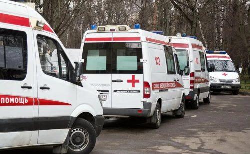 Машины скорой помощи для сопровождения на похоронах