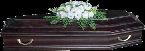 Ветка памяти стандартная «Белая Роза»