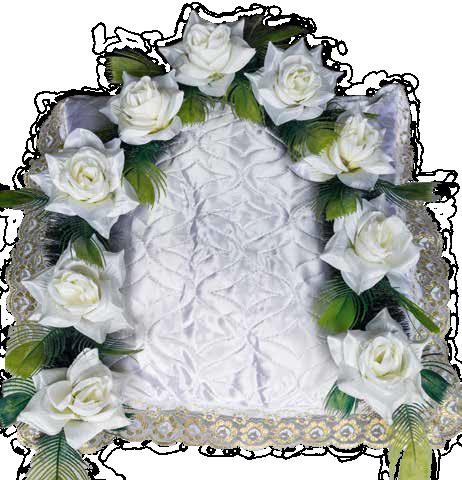 Гирлянда стандартная «Белая роза»